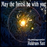"""May the forest be with you"". Foto och bearbetning: Huldrans Natt"